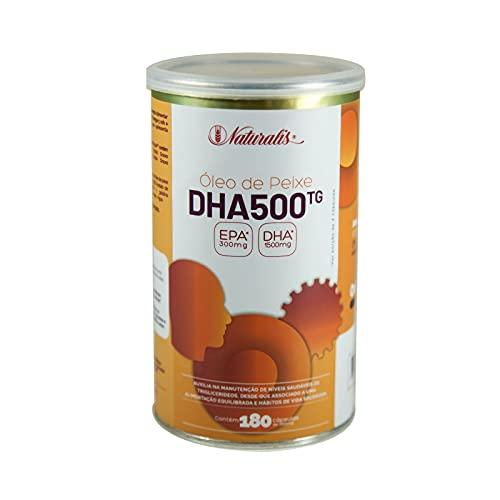 Omega DHA 500 com 180 Cápsulas - Naturalis