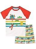 Sesame Street Pijamas de Manga Corta para niños Multicolor 18-24 Meses