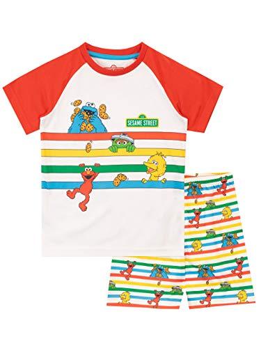 Sesame Street Jungen Character Schlafanzug Mehrfarbig 122