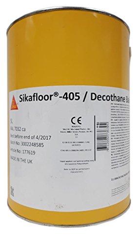 Silka Sikafloor 405 Decothane Balcons RAL 7032 Kieselgrau 5 L