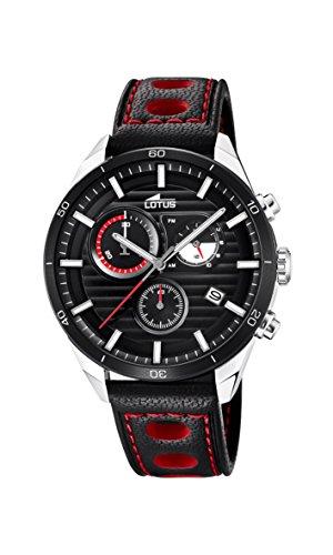 Lotus Watches Reloj Cronógrafo para Hombre de Cuarzo con Correa en Cuero 18531/3