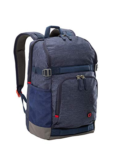 Wenger 602657 STREETFLYER 15.6' Backpack with Tablet Pocket In Denim {22 Litres}