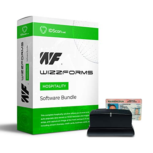 Great Features Of Check-in 100 Solution - Passport and Driver License Scanner CR100 with WizzForms P...