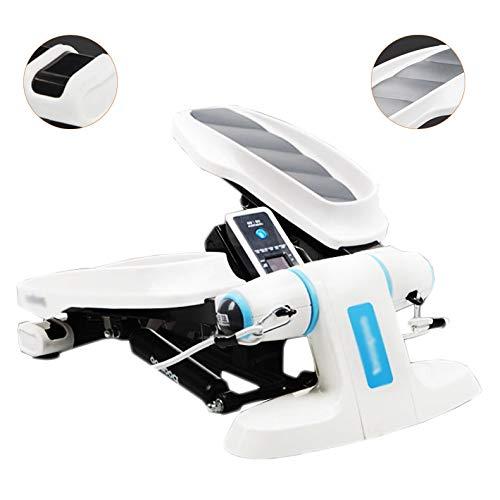 Best Review Of Step Machines Multi-Function Stepper Elliptical Jogging Stepper Home Treadmill Climbi...