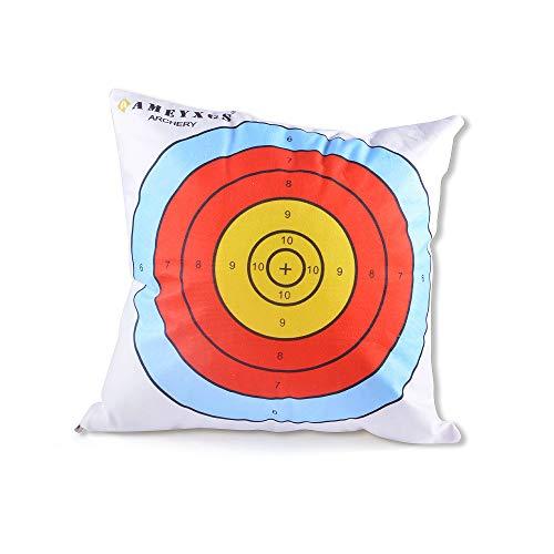 ZSHJGJR 16 x16 Throw Pillow Arrow Throw Pillow Cushion Cover with Insert Target Archery Hall Decoration Cushion Covers Home Decor Archery Theme