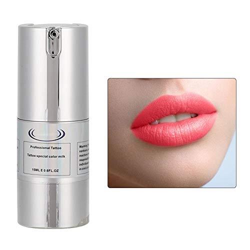 Vloeibare lippenstift, vloeibare lipgloss Professionele lip make-up tool Lippenstiftkit Non-stick Cup Lipkleur Inkt(Donkerrood)