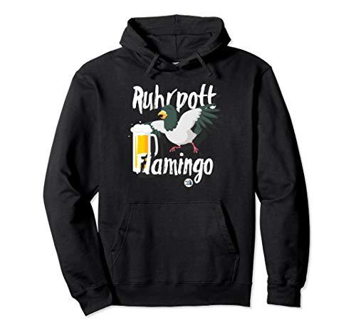 Ruhrgebiet Design Ruhrpott Flamingo Bier lustig Geschenk Pullover Hoodie