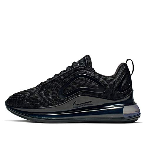 Nike Air Max 720 (GS), Scarpe da Atletica Leggera, Nero (Black/Black/Black 000), 37.5 EU