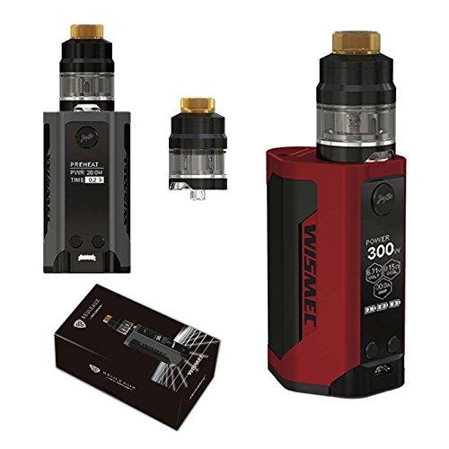 Wismec Reuleaux RX GEN3 Mod + Gnom Tank (Komplettpaket) - NEIN Nikotin (Rot)