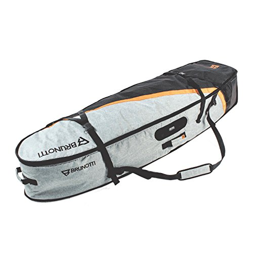 Brunotti X Passform 5 '20,3 cm Surf Kite Board Bag Roller Surfbrett Granit grün