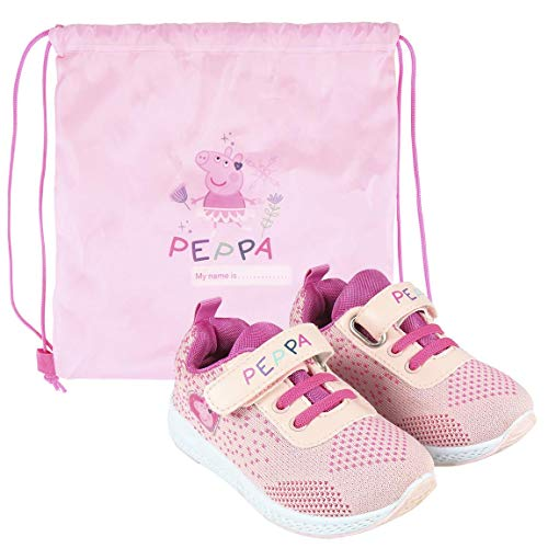 CERDÁ LIFE'S LITTLE MOMENTS Cerdá-Zapatillas Peppa Pig para Niñas de Color Rosa, 21 EU