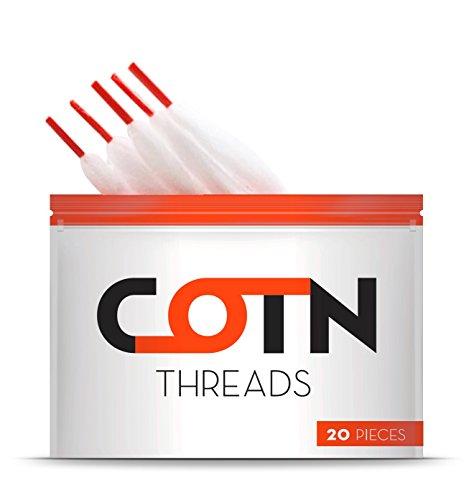 COTN Threads Watte (20 Stück pro Packung), 10 g