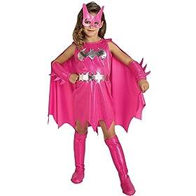 Batgirl Child Costume in Pink