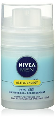NIVEA Men Active Energy Fresh Look Moisture Gel, 50mL