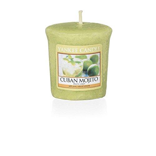 Yankee Candle Samplers votiefkaarsen, wax, Cuban Mojito, 4,6 x 4,8 x 1 cm
