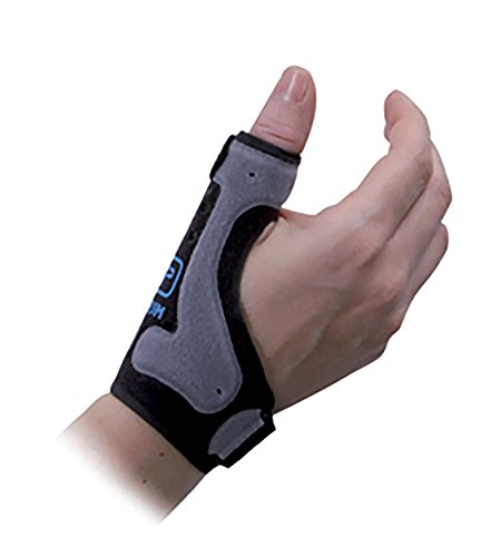 Armed - Muñequera con soporte del pulgar (para osteoartritis pulgar, rizartrosis del pulgar, lesiones del pulgar, síndrome de túnel carpiano y tendonitis pulgar) Disponible en 2 tallas y en beige o gris. ✅