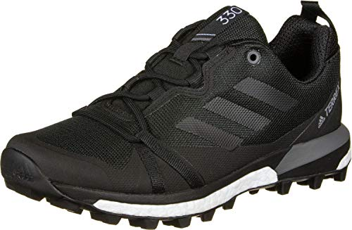 adidas Mens Terrex Skychaser LT Walking Shoe, Core Black/Core Black/Grey, 43 1/3 EU