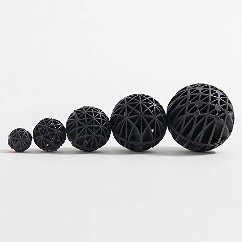 Nukana Biochemisches Ball-Nitrifikations-Bakterien-Biosphäre-Aquarium-Filtermaterial Für Aquarien Mit Innerer Biochemischer Filterbaumwolle (Durchmesser 76 M