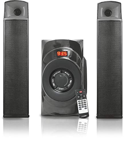 Oshaan CMPL-24 (2.1 BT-BAR) Bluetooth Multimedia Speaker with 2.1 Channel Speaker Dual...