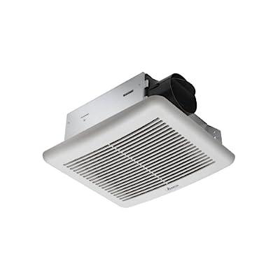 Delta Electronics SLM70 Bath Fan, 70 CFM, Off White