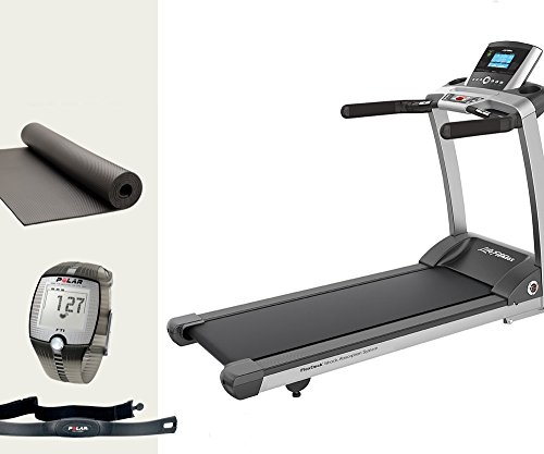 Life Fitness T3Go–modello 2017. Tapis Roulant con tappetino e Polar Fascia Toracica