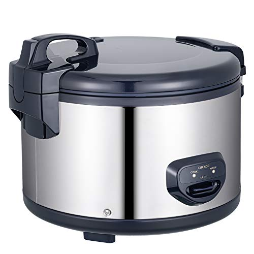 Cuckoo CR-3511 premium catering rice cooker (6.3l, up to 35 persons / 1550W) with keep-warm function