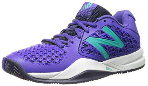New Balance Damen 996v2 Tennis Shoe, Purple, 36 C/D EU