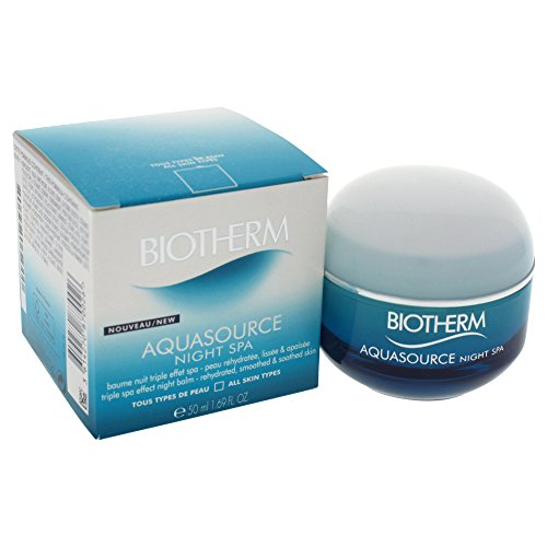Biotherm Aquasource femme/women, Triple spa effect night balm, 1er Pack (1 x 50 g)