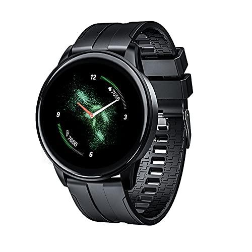 ZGNB B7 Pulsera Inteligente, Control De Música, Tiempo Temperatura Photo Ritmo Cardíaco Reloj Bluetooth Bluetooth para Hombres Y Mujeres para iOS Android,B