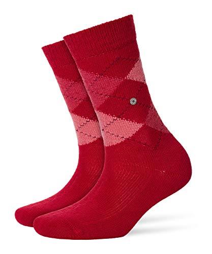 BURLINGTON Damen Socken Whitby - Warm Und Weich, 1 Paar, Rot (Vermillion Red 8226), Größe: 36-41