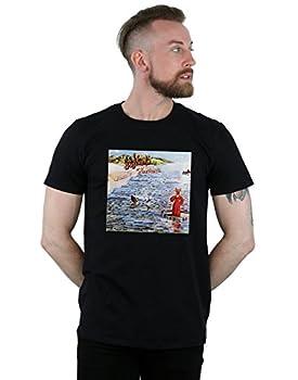 ABSOLUTECULT Genesis Men s Foxtrot Album Cover T-Shirt Black XXX-Large