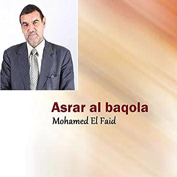 Asrar al baqola (Quran)