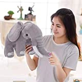 BAOZHEh Niedliche Puppe Kinder Puppe Elefant Plüsch Spielzeug Schlafkissen Geburtstagsgeschenk,...