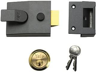 Yale Locks 89 Deadlock Nightlatch Brasslux 60 mm Backset Boxed