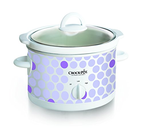 Review Of Crock Pot 2-1/2-Quart Slow Cooker, Polka Dot Pattern (SCR250-POLKA)