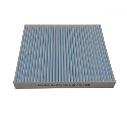 Blue Print ADA102509 Innenraumfilter / Pollenfilter , 1 Stück