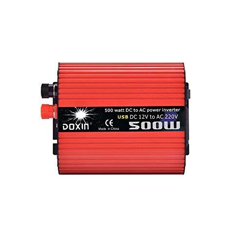 technaxx Wechselrichter 12V bis 220V Auto LKW Spannungswandler Inkl. Stecker für Zigarettenanzünder, usbAQD