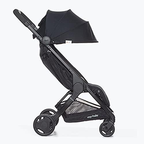 ERGObaby METRO15EU1 Metro Pushchair with Reclining Function Model 2020, from 6 Months to 22 kg, Children's Buggy, Foldable, Small, Lightweight, Compact, Black, 6.3 kg