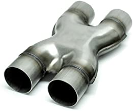 Exhaust Stamped X Pipe 3.00