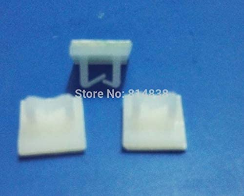 NC1010 Translated White Nylon sold out Plastic Self Adhesive Tie Saddle Mount Wire 1