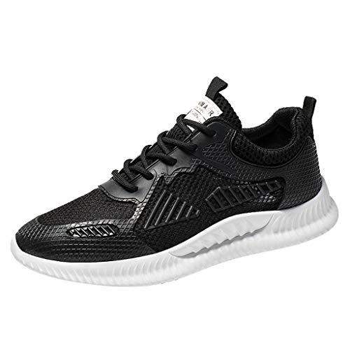 ZODOF Zapatillas Calzado Deportivo Hombre Tejido Respirable Zapatillas Moda Ligero Zapatos Casuales Zapatos para Correr Running Shoes Zapatillas de Ciclismo de montaña