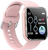 Smartwatch Orologio Fitness Uomo Donna Smart Watch Contapassi Cardiofrequenzimetro da Polso Orologio...