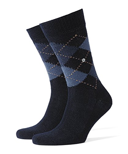 Burlington Preston Calcetines, Azul (Dark Navy 6375), 40/46