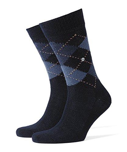 BURLINGTON Herren Socken Preston - Warm Und Weich, 1 Paar, Blau (Dark Navy 6375), Größe: 40-46