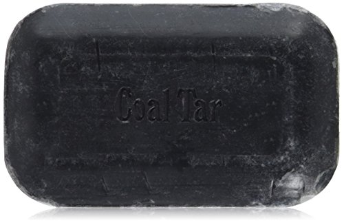 Soap Works - Soothing, Old Fashioned Recipe Bar Soap for Dry and Itchy Skin - Coal Tar