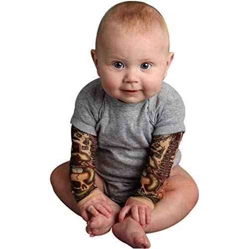 FELZ Peleles Bebe Niña Recien Nacido Mono Invierno Bebe Niño Bautizo Una Pieza para Niños,Mangas De Tatuaje, Navidad, 3-24 Meses, Gris/Negro