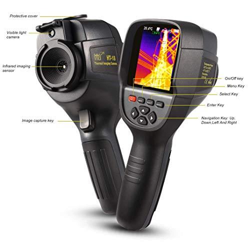 Cámara termográfica infrarroja con resolución de 220 x 160 IR, cámara...