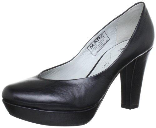 Marc Shoes 1.408.21-01/100-Venus, Damen Pumps, Schwarz (Black 100), EU 38 (UK 5)