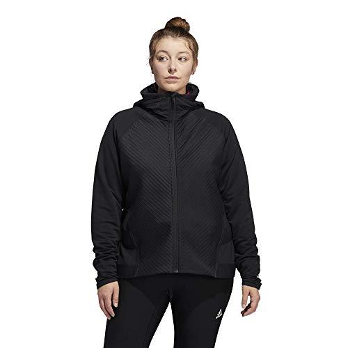 adidas Chaqueta de entrenamiento Cold.rdy para mujer - IPH10, M, Negro