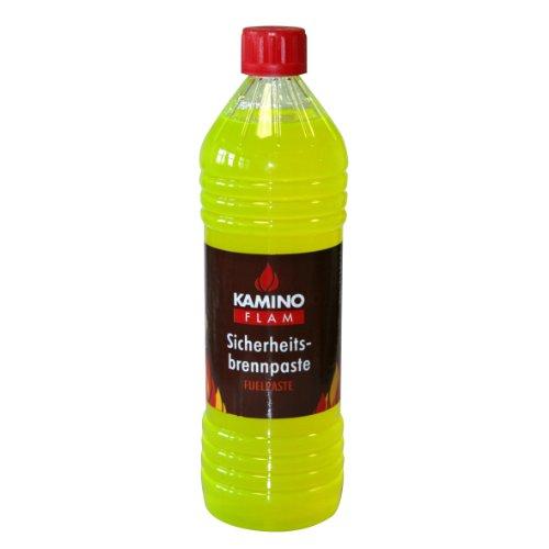Kamino-Flam 388803 Brennpaste Sicherheitsbrennpaste, gelb, ca. 1 Liter